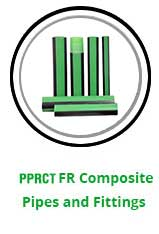 PPRCT FR Composite Pipes and Fittings